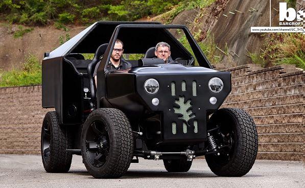El coche ecológico también se imprime en 3D #impresion3d #3dprint
