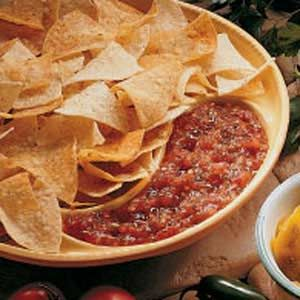 "Freezer Salsa ""Jam""  no processing! Great recipe just a click away!"
