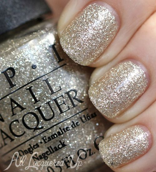 OPI Mariah Carey Holiday 2013 – Glitter and Gold Swatches