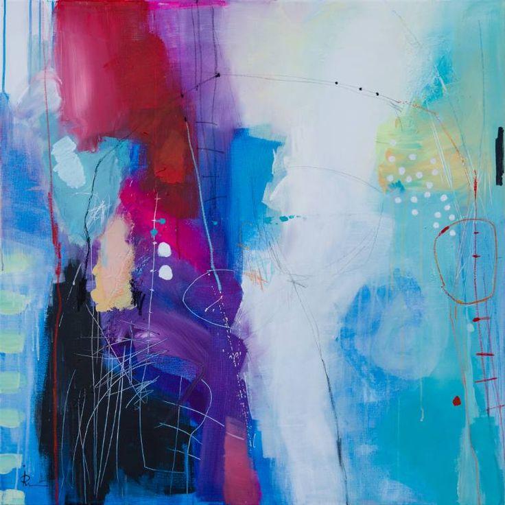 Ira Ivanova - Suggestion 12    39.4x39.4 in acrylic on canvas