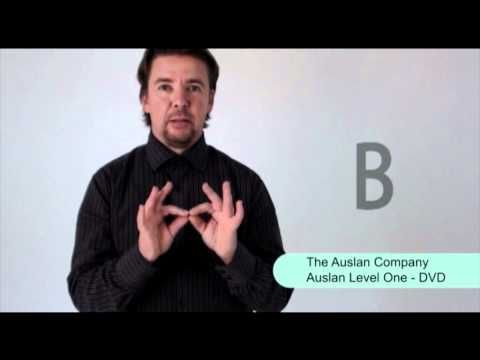 A-Z of Everyday Auslan Signs