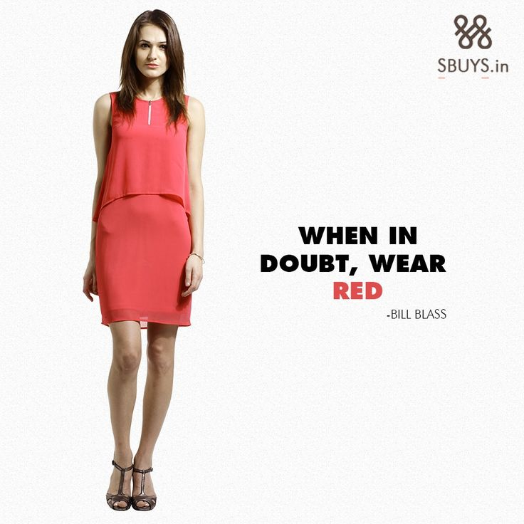 Fashion quotes about red dress