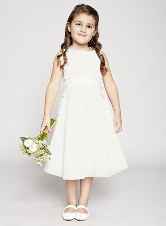 BHS Flower girl dresses from £39, an amazing selection at a bargain price! They often have discount codes, for example today (10/04/2015) there's 20% off everything!