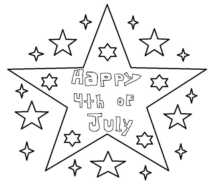 61 best 4th of July to Color images on Pinterest Coloring pages - new 4th of july coloring pages preschool