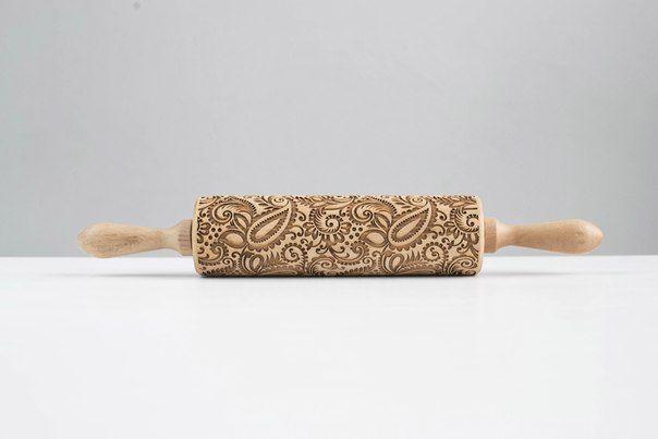Скалки с узором для печенья Texturra № 1