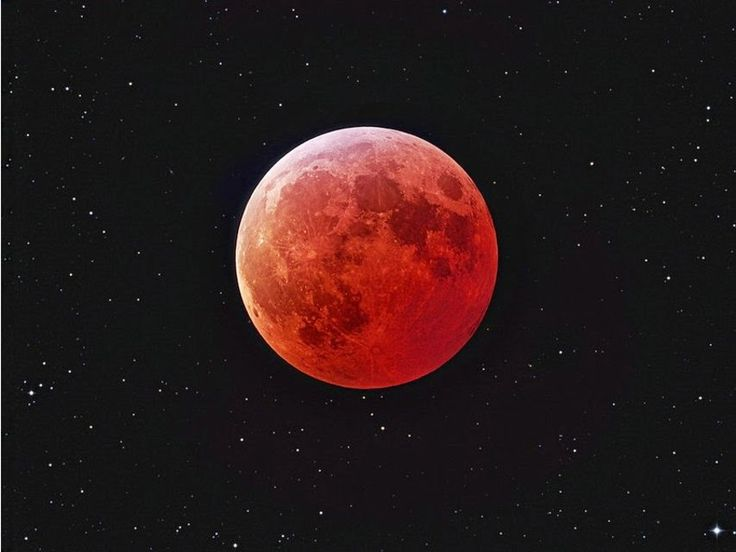 TERRA REAL TIME: Domani eclissi lunare,e spettacolo celeste della Luna rossa