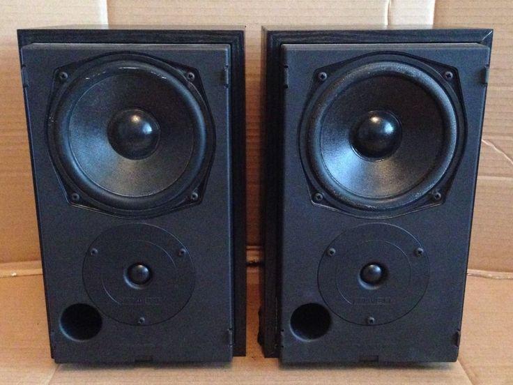 Mission 760i Bookshelf Speakers - 2-Way 75w Hi Fi Loudspeakers