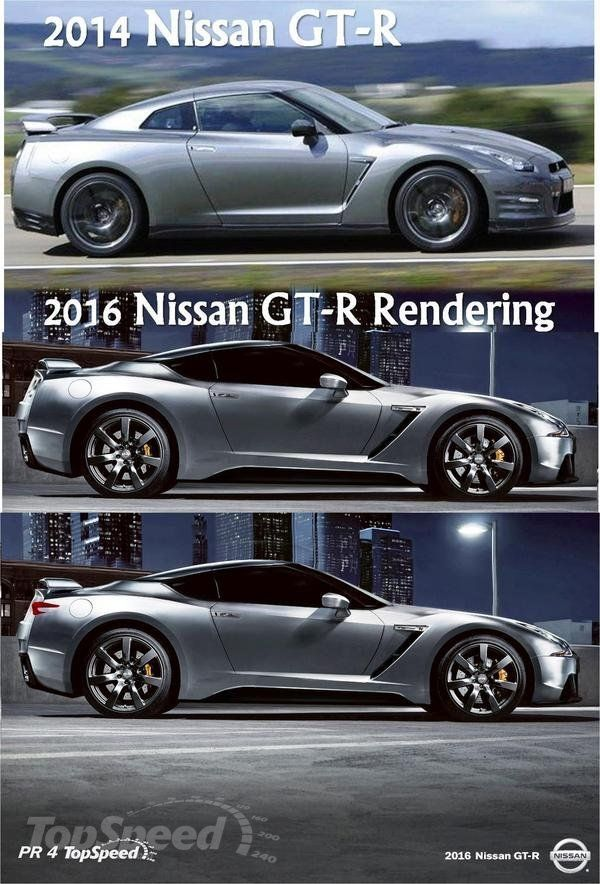 2016 Nissan GT-R redering