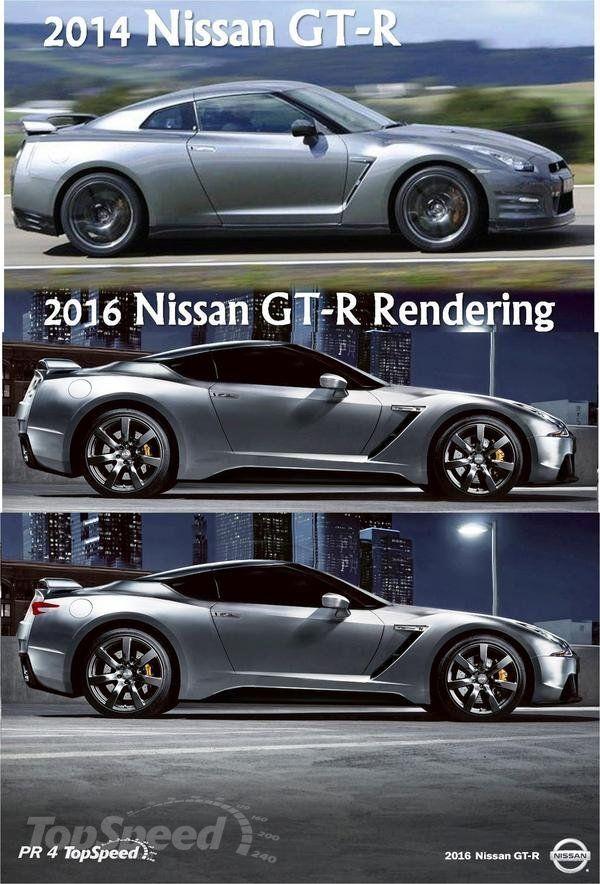 2016 Nissan GT-R redering