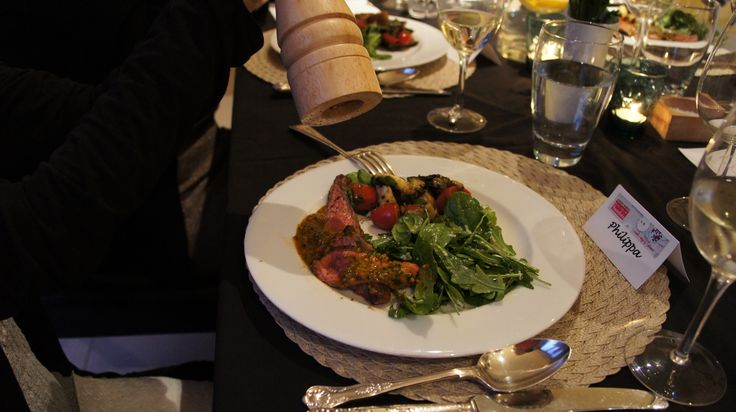 Everyone loved the main course! #afreerangelife @Annabel Langbein
