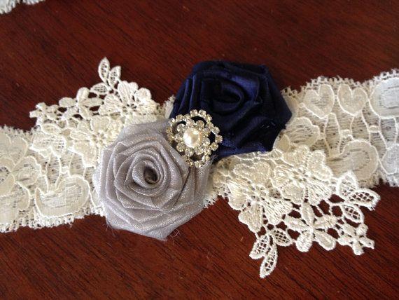 jarretire de mariage jarretire set marie par flordelunadesigns - Jarretiere Mariage