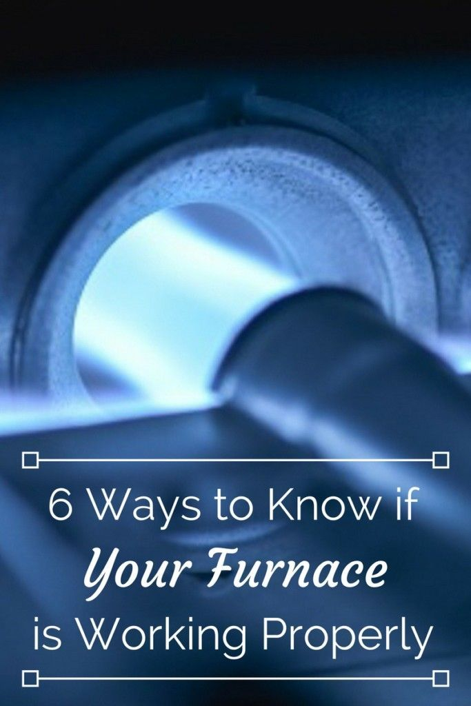 Stay warm this winter knowing that your furnace is working properly! Here are six things to look out for so you don't end up in the cold.