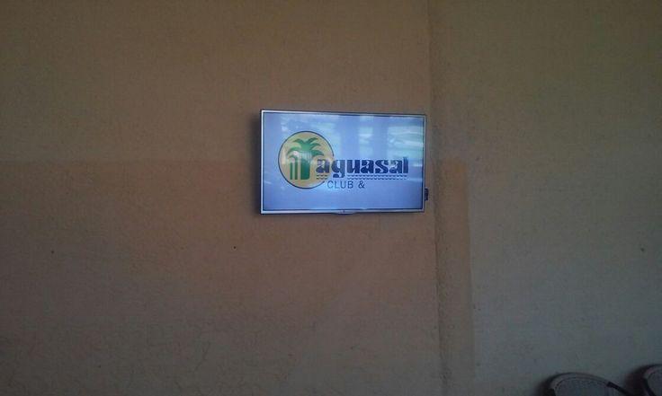 Cartelera Informativa del @ClubAguasal por IMVINET #DigitalSignage #Venezuela www.imvinet.com