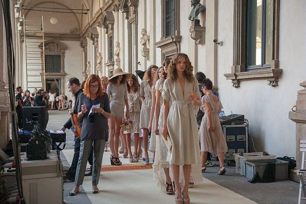 Luisa Beccaria spring/summer collection  #milanofashionweek #art #fashion #pinacotecabrera