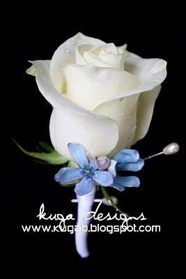 blue flower wedding bouquets - Google Search