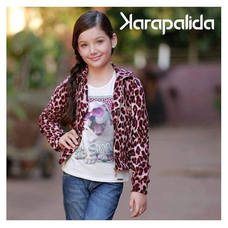 Segunda-feira fresquinha? Aposte numa composição confortável de jeans e casaco quentinho de animal print!  #karapalida  #jeans #conforto #inverno2015
