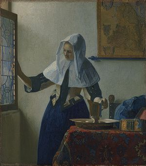 Young Woman with a Water Pitcher, ca. 1662  Johannes Vermeer (Dutch, 1632–1675)  The Metropolitan Museum of Art