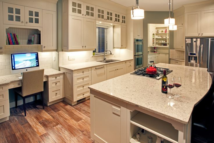 Floform kitchen with cambria 39 s darlington countertops for Cambrian kitchen cabinets