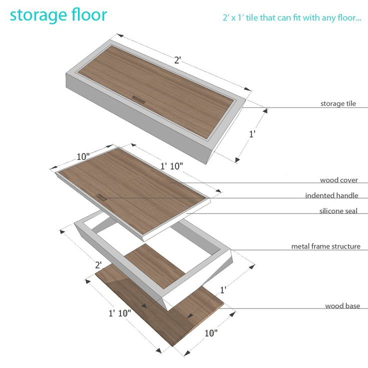 17 Best Images About House Storage Floor On Pinterest