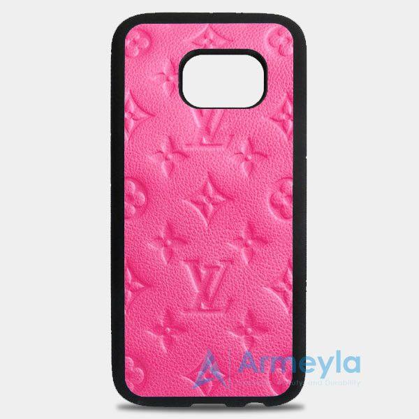 Louise Vuitton Monogram Rose Samsung Galaxy S8 Plus Case   armeyla.com