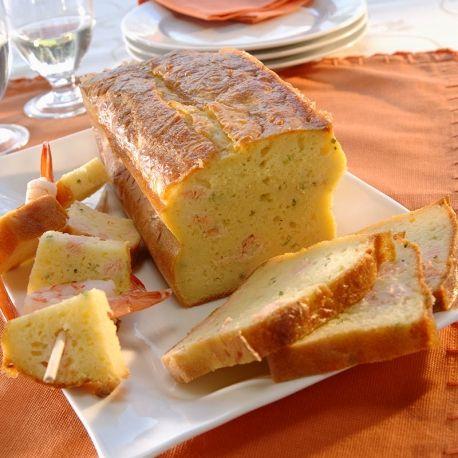 Cake au saumon fume thermomix