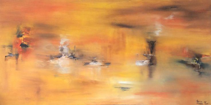 """""""La paleta de William"""" Óleo s/tela 50x100"""