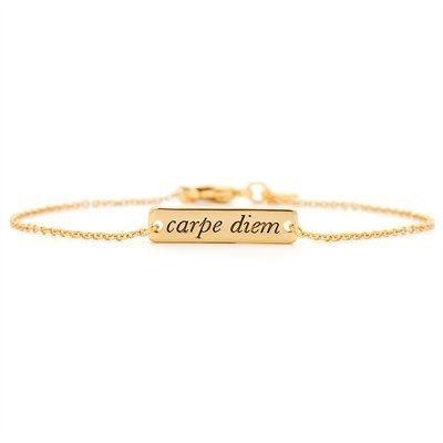 Gorjana® Carpe Diem Bracelet — Gold