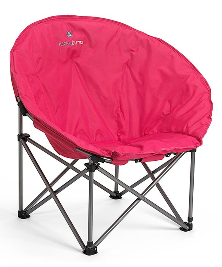 Love this Pink Moon Camp Chair by Lucky Bums on #zulily! #zulilyfinds
