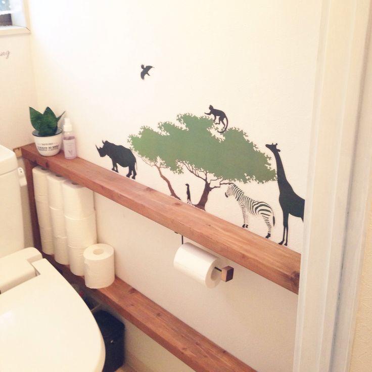 トイレ周りをDIY。タンクを隠す目からウロコのアイデア集