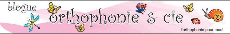 Blogue Orthophonie & Cie | L'orthophonie pour tous