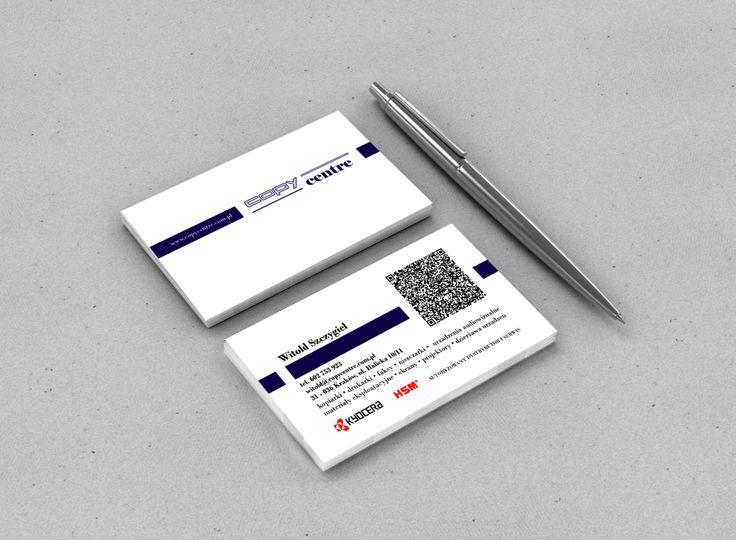 usiness card for Copy Centre