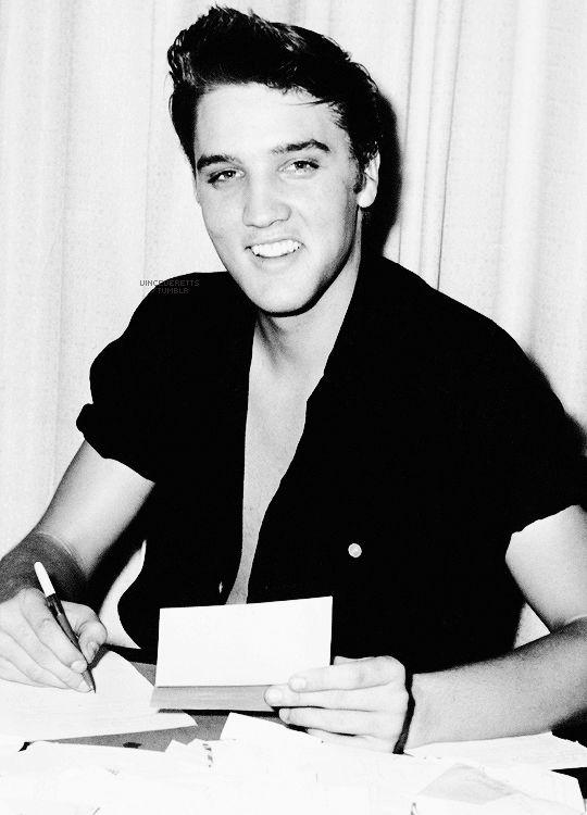 Elvis Presley, August 1955.