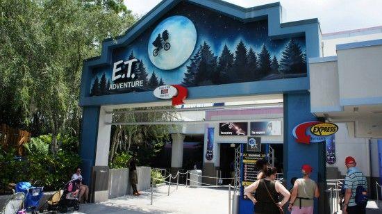 The ET ride