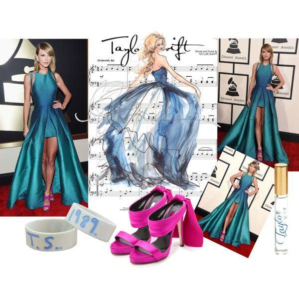 Taylor Swift by ildikos on Polyvore featuring Oscar de la Renta