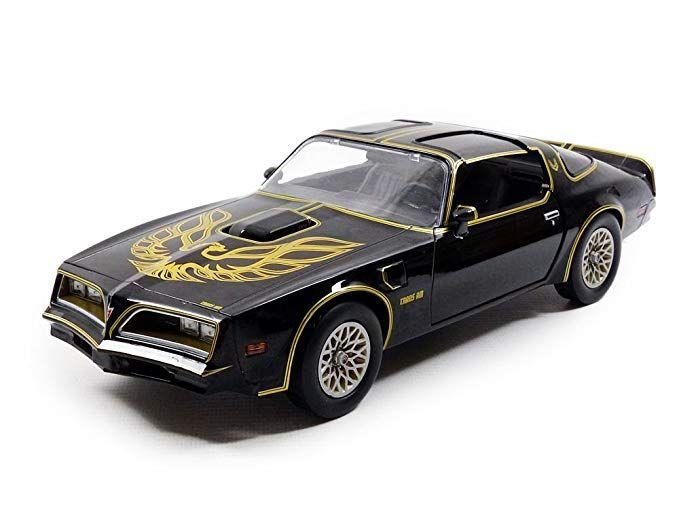 in Scala 1//18 /19025/ /Pontiac Firebird/ Nero /1969 Greenlight Collezionismo/ /Veicolo in Miniatura/ /Smokey And The Bandit 1/