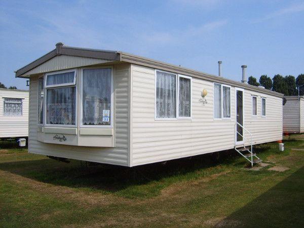 Static Caravan For Hire On Felixstowe Beach Holiday Park