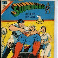 Lote de 49 números de Supermán Novaro Serie Avestruz (1975 - 1984)
