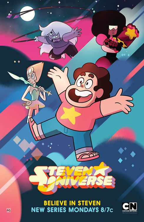 Steven Universe - there are very few cartoon network shows that catch my eye these days. And Steven Universe is 1 of them. Funny, well animated, great characters. One of the best original CN shows ever aired in my opinion.