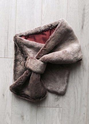 Kup mój przedmiot na #vintedpl http://www.vinted.pl/akcesoria/inne-akcesoria/15641753-szalik-ze-sztucznego-futerka-z-bordowa-podszewka-ca
