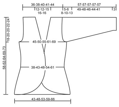 "DROPS 97-3 - Casaco croché em ""Inka"" – Tamanhos S - XXL - Free pattern by DROPS Design"