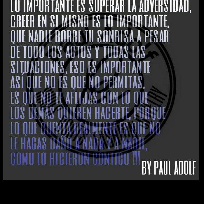 Pensamientos by Paul Adolf!!!