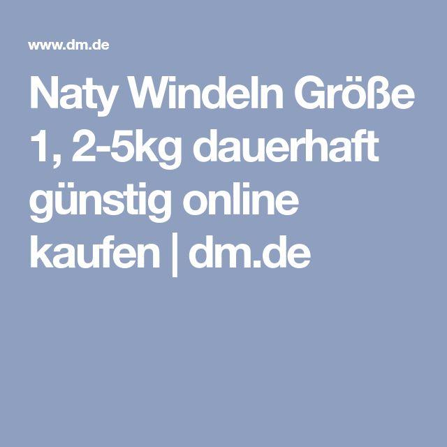 Naty Windeln Größe 1, 2-5kg dauerhaft günstig online kaufen | dm.de