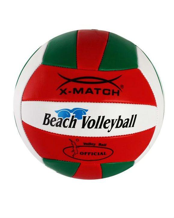 X-Match волейбольный красно-зеленый