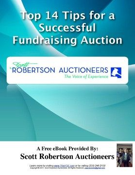 Top 14 tips for a successful fundraising auction silent for Auction advice