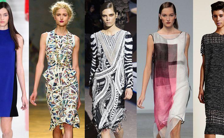 Офисный дресс-код: платья 2014 #burdastyle #burda #мода #fashion