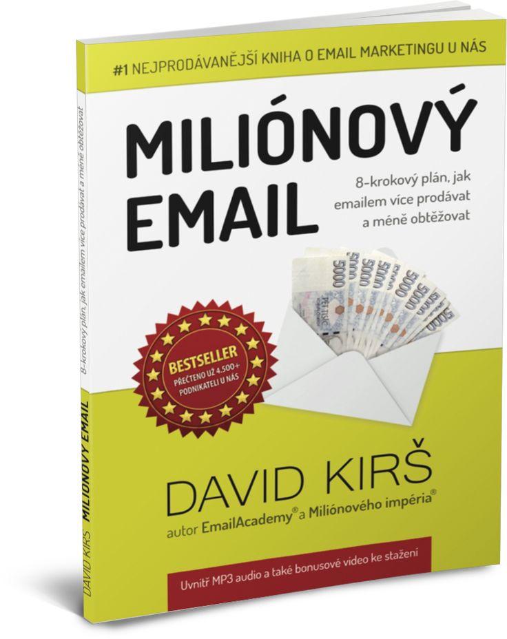 KNIHA Miliónový Email | EmailAcademy 2.0