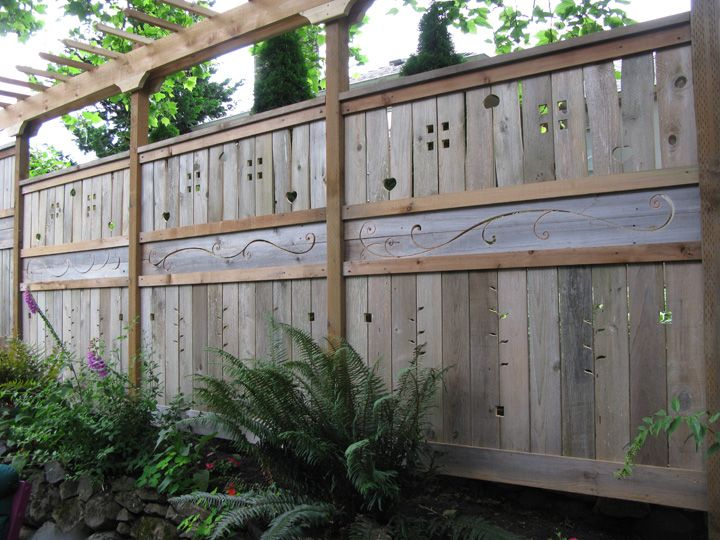 116 best Cool and Creative Privacy Fences images on Pinterest ...
