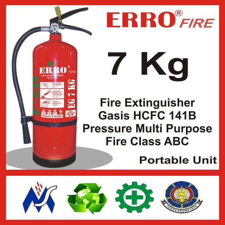 Alat Pemadam Kebakaran Gasis Pengganti Hallon 7 Kg | Tabung Apar