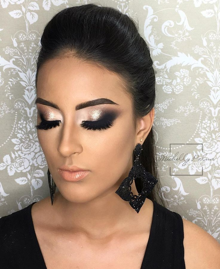 "9,407 curtidas, 100 comentários - Michelly Palma Makeup (@michellypalmamakeup) no Instagram: ""Esfumadim ❤️❤️ model: @_thaiscarol"""
