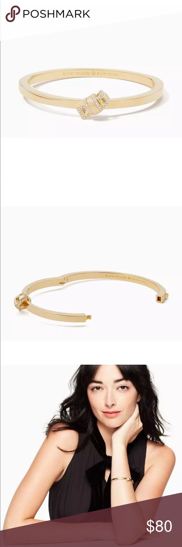 """Kate Spade Bracelet 100% authentic! Brand new with tags 💓   My boutique rules:  1. no commenting about price 2. No self advertising  3. No rude comments  4.) No advertising of other stores (such as you can find this at """"store"""" for more or less)  Let's keep a positive atmosphere ! If you don't like the listing please move on. (You will be blocked and no longer allowed to shop at my boutique if any rule is broken.) kate spade Jewelry Bracelets"""